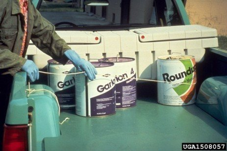Disposing of Used Pesticide Containers