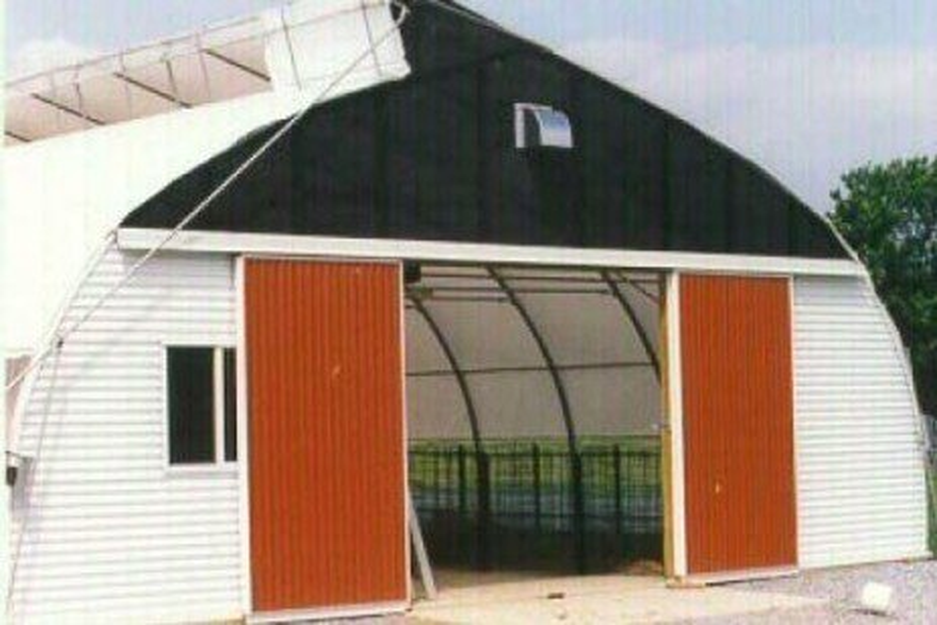 Ventilating Greenhouse Livestock Barns