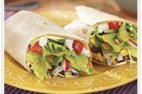 Easy Veggie Burritos