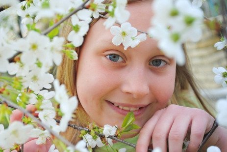 Family Time, Spring: Child Ages 7-8