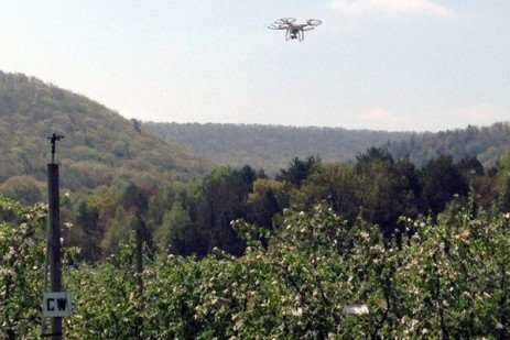 Buy-and-Fly Orchard Management Using Unmanned Aircraft