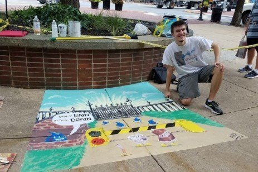 Street 2 Creek: Storm Drain Art Project in York County