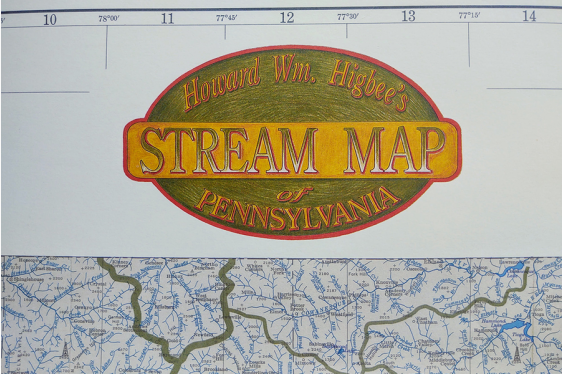 Pennsylvania Stream Map