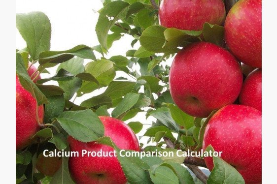 Orchard Nutrition - Calcium Rate Calculator for Individual Product Comparisons