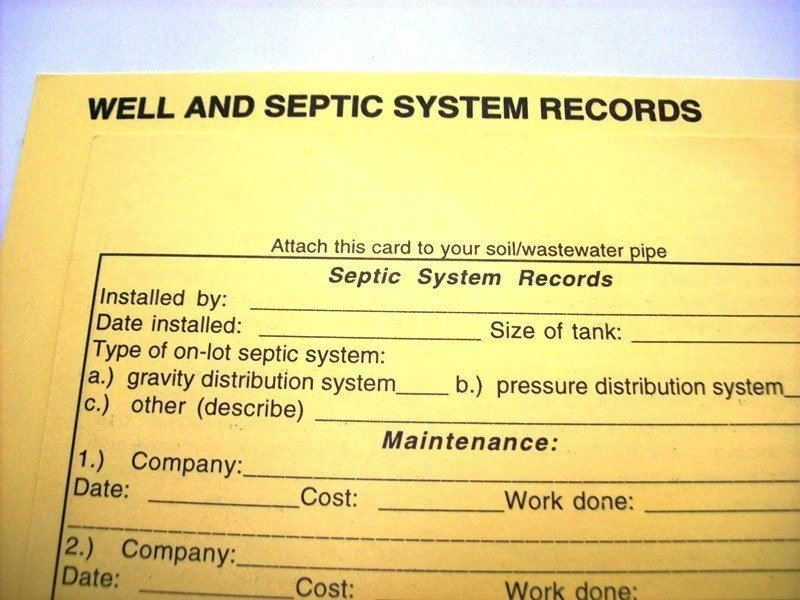 well pressure tank sizing keeping well and septic system records