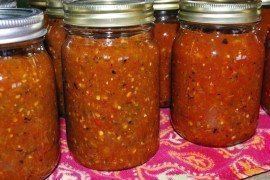 Prepare and Preserve Homemade Salsa