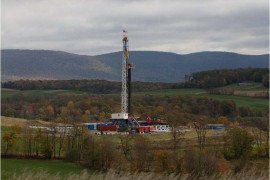 A Marcellus shale gas well pad in Pennsylvania (image credit Tom Murphy)