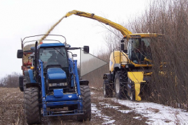 Biomass Harvesting in Winter Conditions
