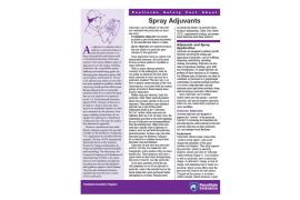 Spray Adjuvants