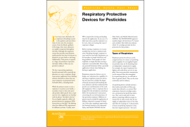 Respiratory Protective Devices for Pesticides