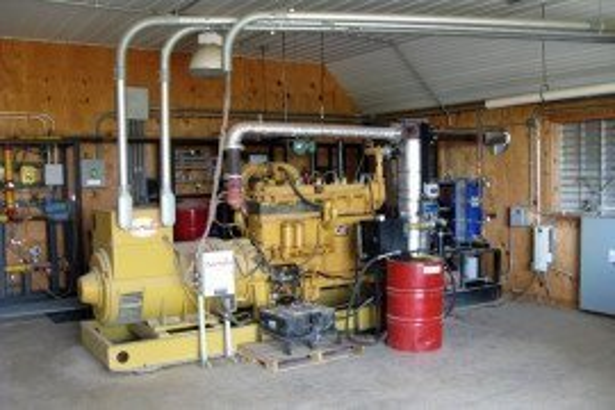 Figure 1. A common generator setup for Pennsylvania Farms.