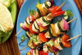 Vegetable Kebabs (Bigstock 3057844)