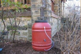 Rain Barrels and Rain Gardens for Managing Household Stormwater