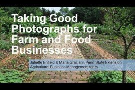 Taking Good Photographs for Farm and Food Businesses
