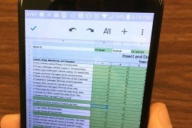 A new mobile scouting spreadsheet developed by Penn State enables simple record-keeping on your smartphone.