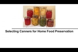 Selecting Canners for Home Food Preservation