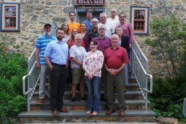Graduates of the Master Watershed Steward Trainee program in Lehigh/Northampton Counties