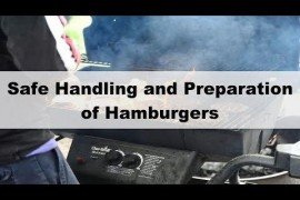 Safe Handling and Preparation of Hamburgers