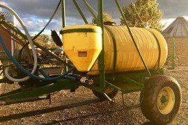 Winterizing Sprayer, Photo by Andrew Frankenfield