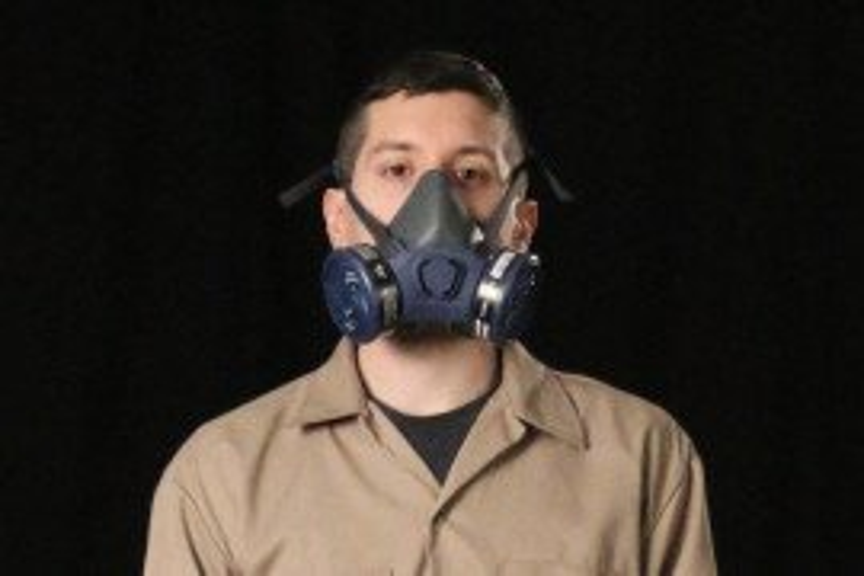 Half respirator