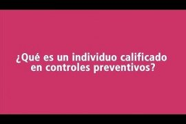 ¿Qué es un individuo calificado en controles preventivos?