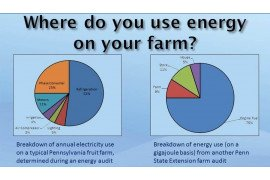 Farm energy audits are useful in determining where to improve energy efficiency.