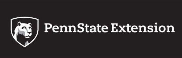 Penn State Extension Reversed Color Mark Logo