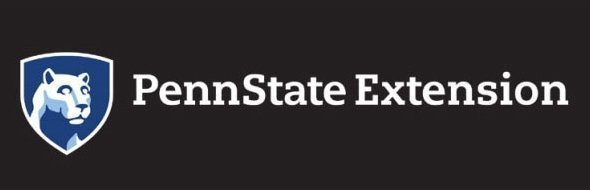 Penn State Extension Grayscale Reversed Logo